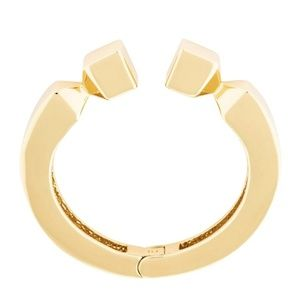 NEW India Hicks 12k Gold Plated Leticia Cuff